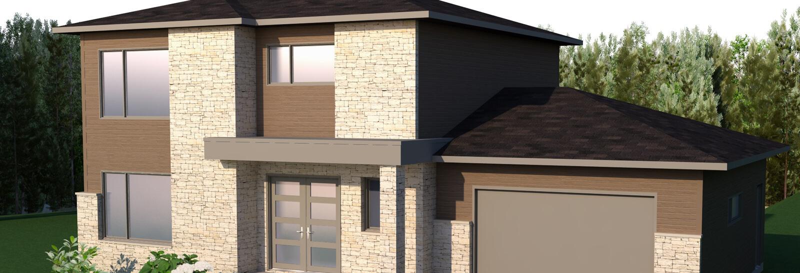 cottage avec garage construction yannick breton